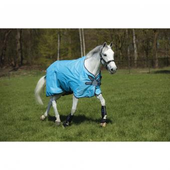 Horseware Outdoordecke Amigo Hero 900 Disc lite 1,45 m | hellblau-navy