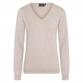 HV Polo Pullover Mounted L   Taupe