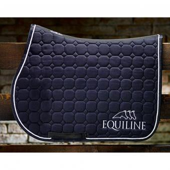 Equiline Schabracke Octagon Outline SP | Navy