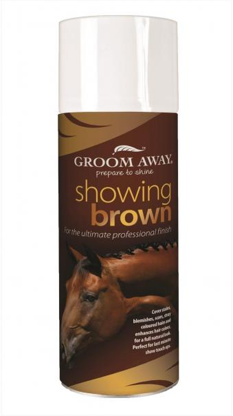 Grom Away Farbspray Showing Brown