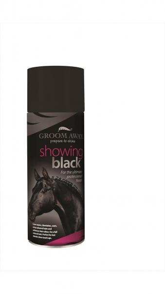 Groom Away Farbspray Showing Black Schwarz