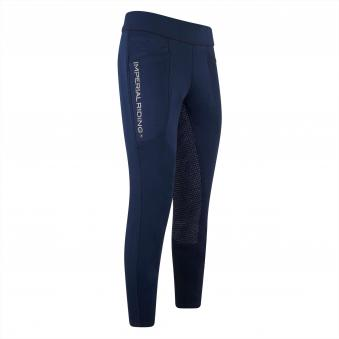 Imperial Riding Winter Reitleggings Like a Pro 36 | Navy
